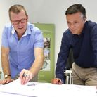 Architects John Everitt and Toby Coombes (c) Andrew Higgins/TWM