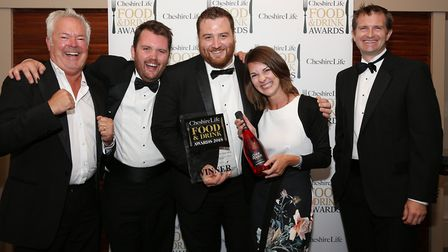 Winner of the Cheshire Life Dining Pub of the Year 2018 award was The Cholmondeley Arms, Malpas. Pho