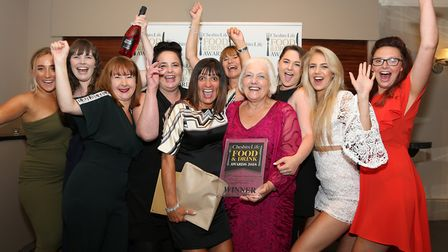 The winner of the Cheshire Life Tearoom/Cafe of the Year 2018 award was The Hollies Farm Shop Cafe,