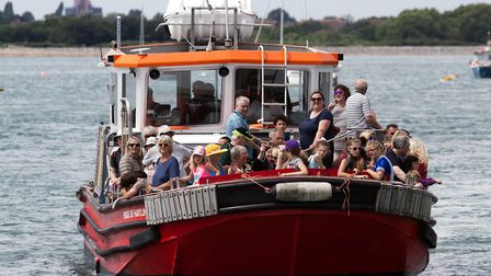 The Hayling Ferry service was relaunched two years ago (Photo by Mike Owens Portrait)