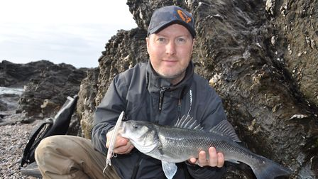 Marc Cowling loves sharing his passion for sea bass lure fishing