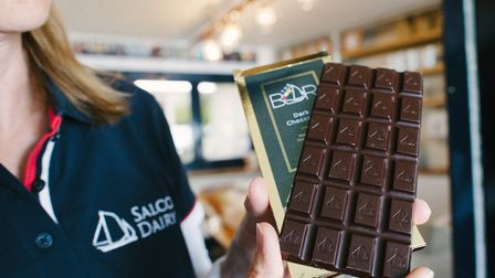 Family-owned Salcombe Dairy is now producing chocolate bars