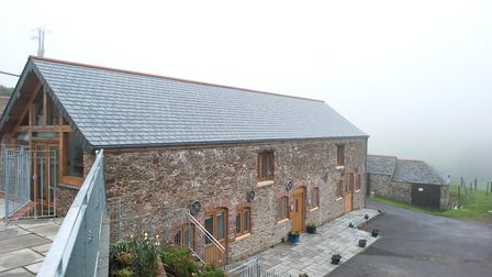 The Victorian Butterwell Barn has been transformed into a smart, modern house