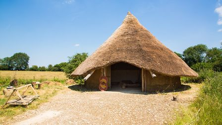 Greystones Iron Age roundhouse (c) Anne-Marie Randall Photography