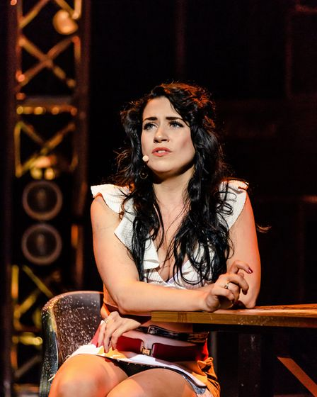 Danielle Hope, as Sherrie in Rock of Ages, UK Tour.