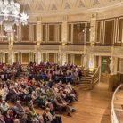 Liverpool University The Liverpool Literary Festival. An audience with Colm Toibin at St. Georges Ha