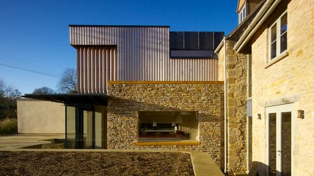 A contemporary extension using traditional materials