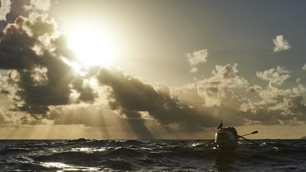 Atlantic Challenge - unsupported across 3,000 miles of ocean from Africa to the West Indies