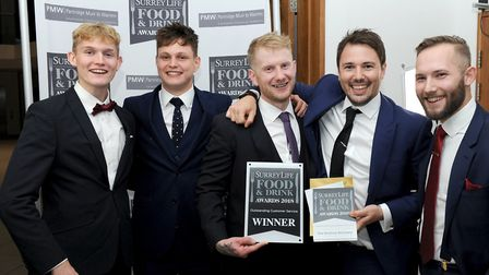 The team from Dorking Butchery (Photo by Mark Lewis)