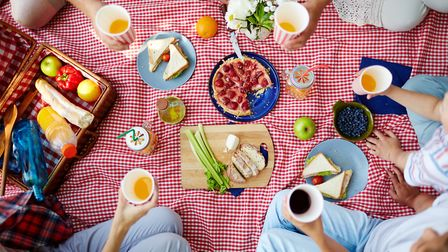 One meal, forever and ever? Easy. Id have a picnic