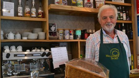 Ted Wright of Milland Stores & Cafe