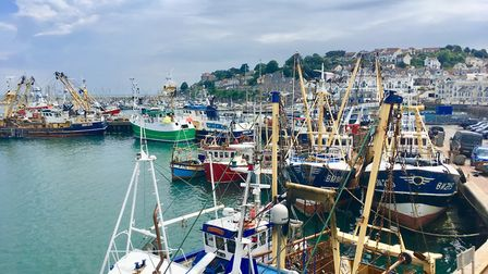 The view from Brixham's Rockfish