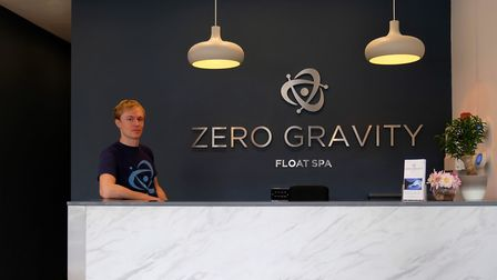 Simon Preedy at the Zero Gravity Float Spa in Altrincham (c) June Poston