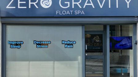 The spa is across the road from Altrincham Interchange on Stamford New Road (c) June Poston