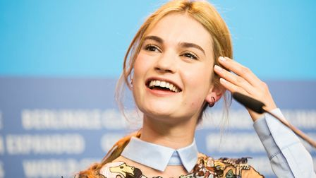 Lily James (Shutterstock)