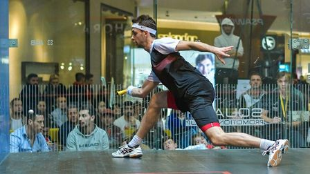 Ranked in the worlds top 100 for squash, professional player Lyell Fuller is now seeking sponsorship