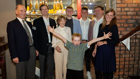 Michael, Henry and Mary Stephenson, James and Alex Lewis Booth, Julian, George and Nikki Stephenson