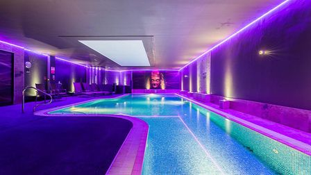 The Heated swimming pool at Aberconwy Resort & Spa