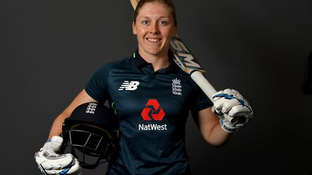 Heather Knight is now captain of the England women's cricket team, but her sporting journey started