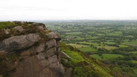 The views of the Cheshire Plain from The Cloud by Keith Carter