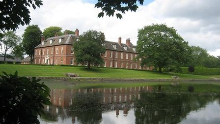 Reflections at Gawsworth by Margaret Stringer
