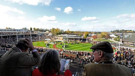 Spectators during day one of the Showcase at Cheltenham Racecourse (c) Cheltenham Racecourse/Press A