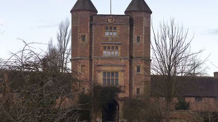 The Tower, seen from the Orchard, on a winter's day at Sissinghurst Castle (photo: National Trust Im