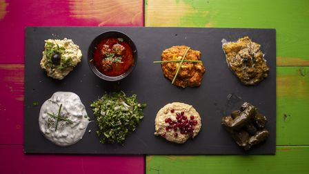 Persian idea of hospitality is echoed in sharing platters at Toot!