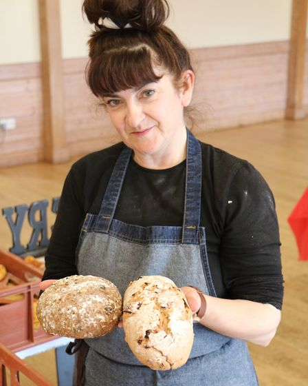 Claire Edwards uses traditional baking techniques to makes her range of artisan breads