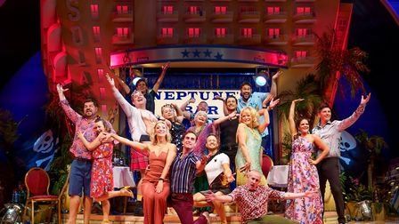 Sherrie Hewson 'Joyce Temple-Savage' and Company in Bendorm Live Photo Paul Coltas