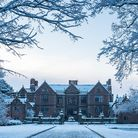Dorfold Hall, near Nantwich, in snow. Photo by Nick Hastings