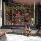 Neal's Yard Remedies at Christmas time