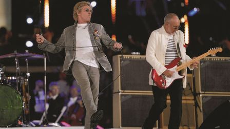 The Who close the 2012 Olympics (Jeff J Mitchell/Getty Images)
