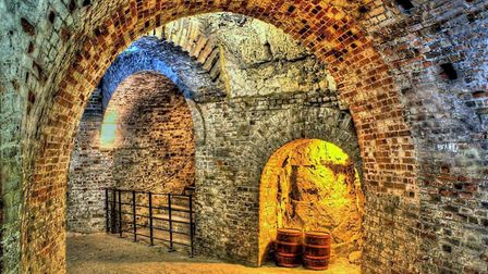 Fort Amherst is one of Medway's Napoleonic fortresses, built to defend the area and its important do