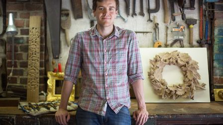 Will Barsley, woodcarver (photo: Manu Palomeque)