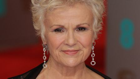 Julie Walters attends the EE British Academy Film Awards at The Royal Opera House in London in 2015