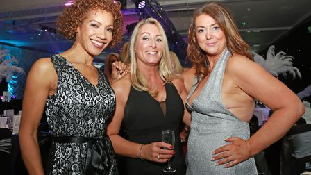 Resi Harris with Fiona Towle and Michelle Mullane