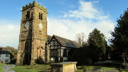 St Oswald's Church, in Lower Peover, near Knutsford