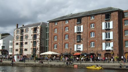 Exeter Quayside (c) Beth, Flickr (CC BY 2.0)