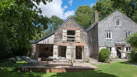 Ellesmera Mill in the Blackpool Valley is an enchanting 400-year-old house
