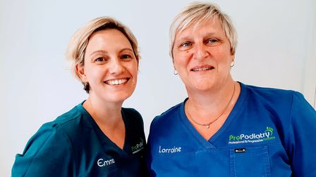 Some of the team at ProPodiatry