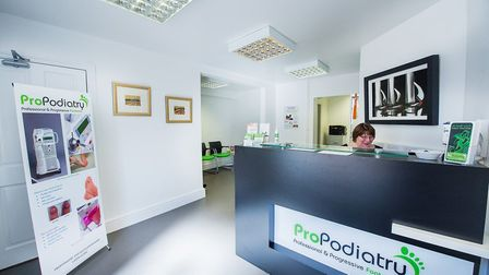 ProPodiatry are based on Imperial Square, Cheltenham