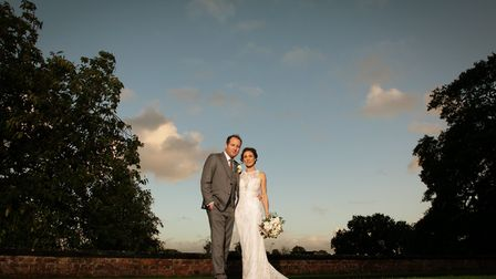 Clare & Mark at the stunning Arley Hall & Gardens, Photography: Matt Priestley