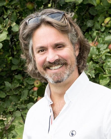 Distinctly Gin founder Laurance Traverso