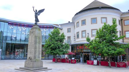 Woking Town Centre (Andy Newbold Photography)