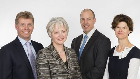 Some of the team at Albright IP