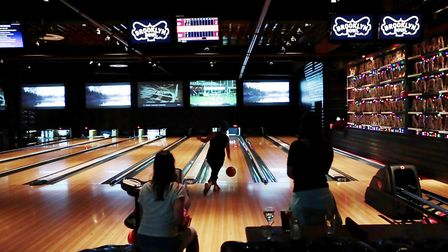 Brooklyn Bowl is a genre-defying bowling alley in Williamsburg with high-tech lanes, live tunes and