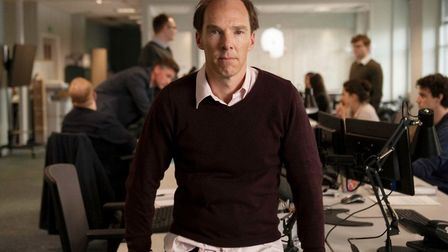 Benedict Cumberbatch as Dominic Cummings (Channel 4 images)