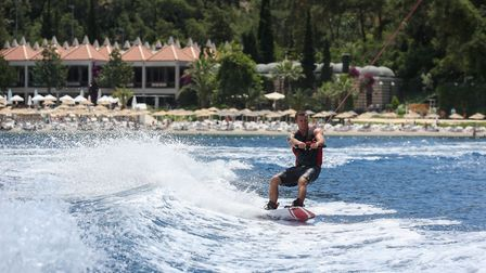 The active can indulge in a full range of watersports