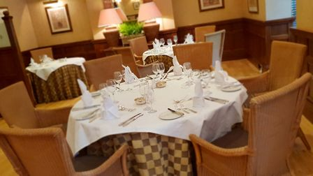 The Langdale restaurant at Rowton Hall